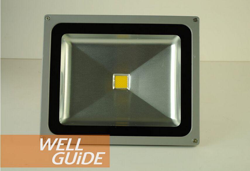 الجملة السلطة العليا للماء 50W LED ضوء الفيضانات دافئ أبيض / أبيض بارد LED الفيضانات مصباح