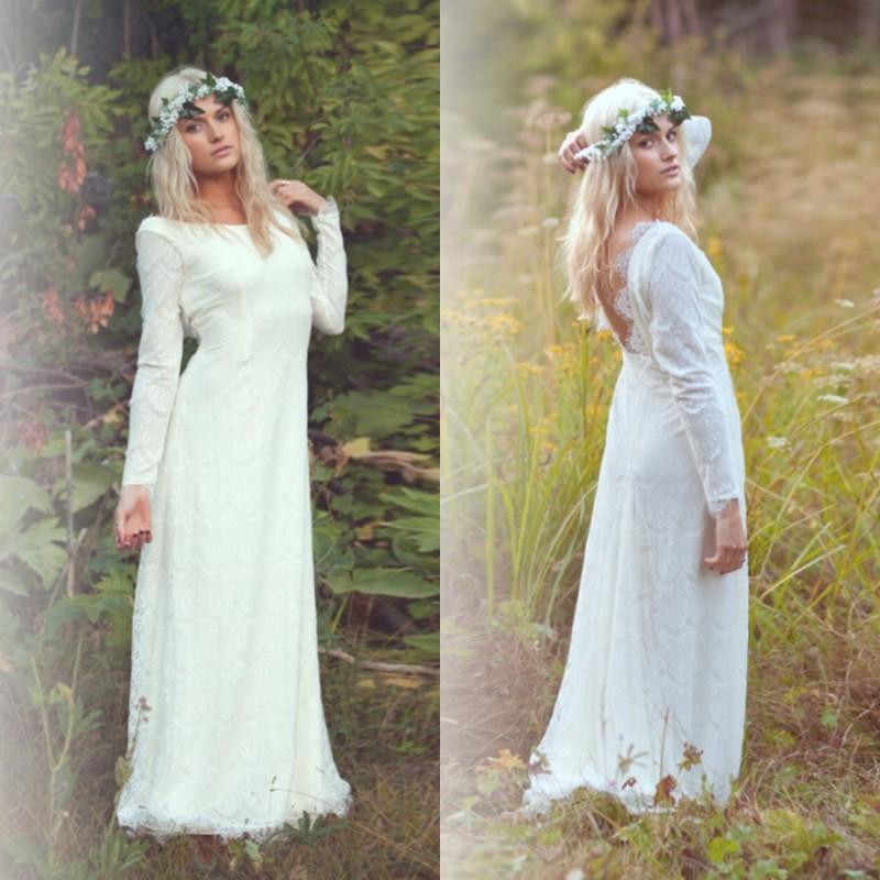 Vintage Greek Goddess Wedding Dresses 2015 Spring White Ivory ...