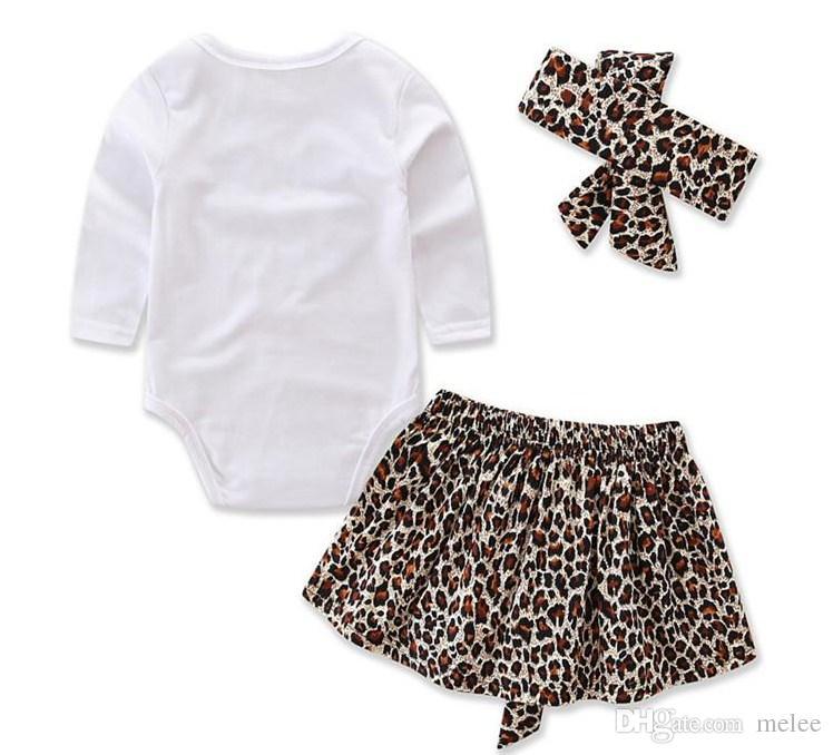 INS Spring new kids leopard love heart romper & infant tutu skirt & headband Suit Boys Outfit bow tie shirt+ stripe casual pants Boy Suit