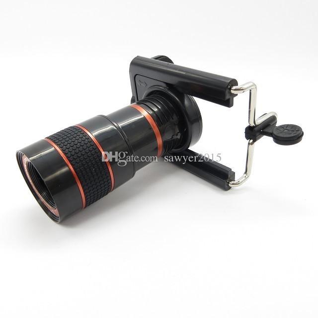 Универсальный 8-кратный зум телескоп телеобъектив камеры для мобильного телефона iPhone 4 5 6 Plus Samsung S6 S5 Galaxy Note HTC