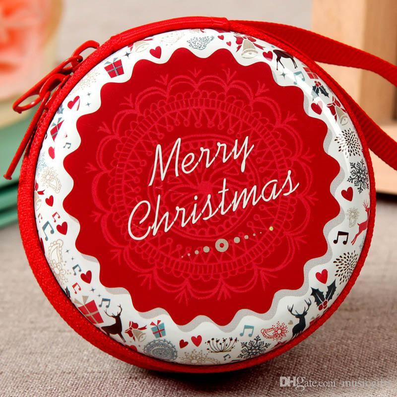 Прочный рождественские подарки для детей девочек Сента дерево украшения практические подарки кошелек бумажник сумки