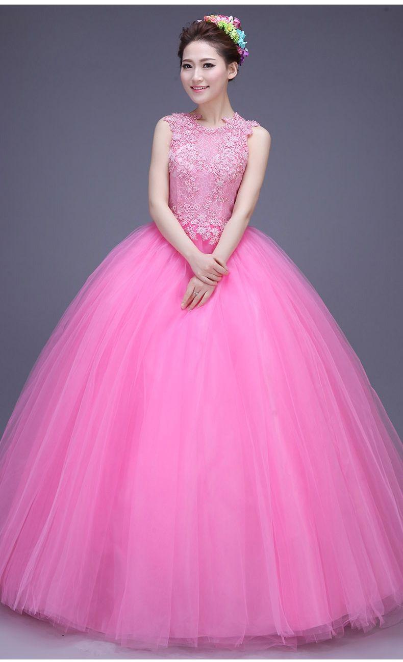 Princess Sweet 16 Dresses Quinceanera Dress Ball Gowns 2015 High ...