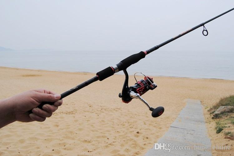 1.95~2.7m Lure Fishing Rod Carbon spinning / casting rods carp rock pole Olta Canne A Peche pesca fit for abu garcia reel