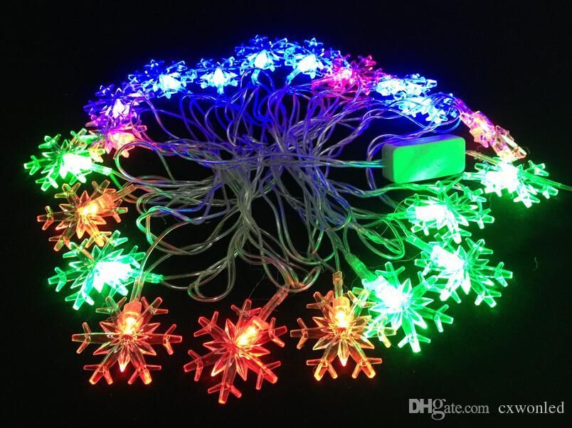 4 M Merry Christmas Day colorful led festival decorative lights 2w110v 220v led christmas light christmas ornament
