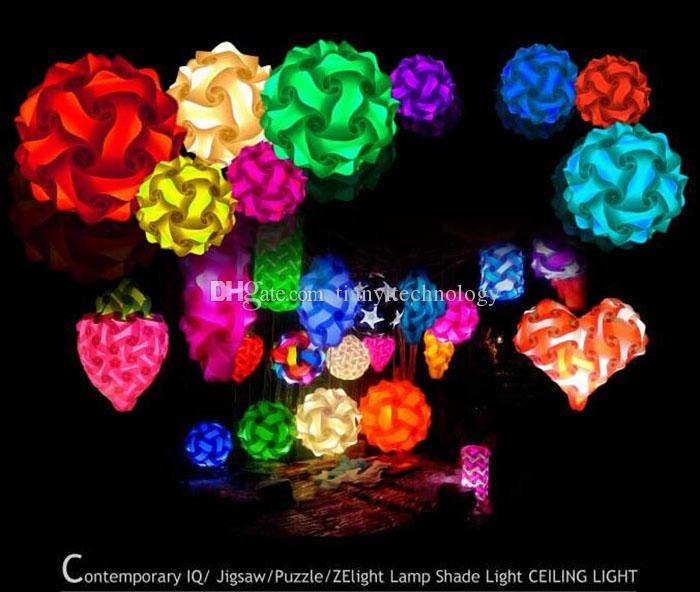 best iq puzzle lights cover infinity lights jigsaw lights lampshade contemporary modern iq. Black Bedroom Furniture Sets. Home Design Ideas