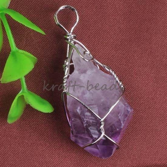 Atacado Encantos Druzy Aleatória Natural Ametista De Cristal De Quartzo Pedra Pedra Pingente de Pedra Pingente de Jóias de Quartzo Natural