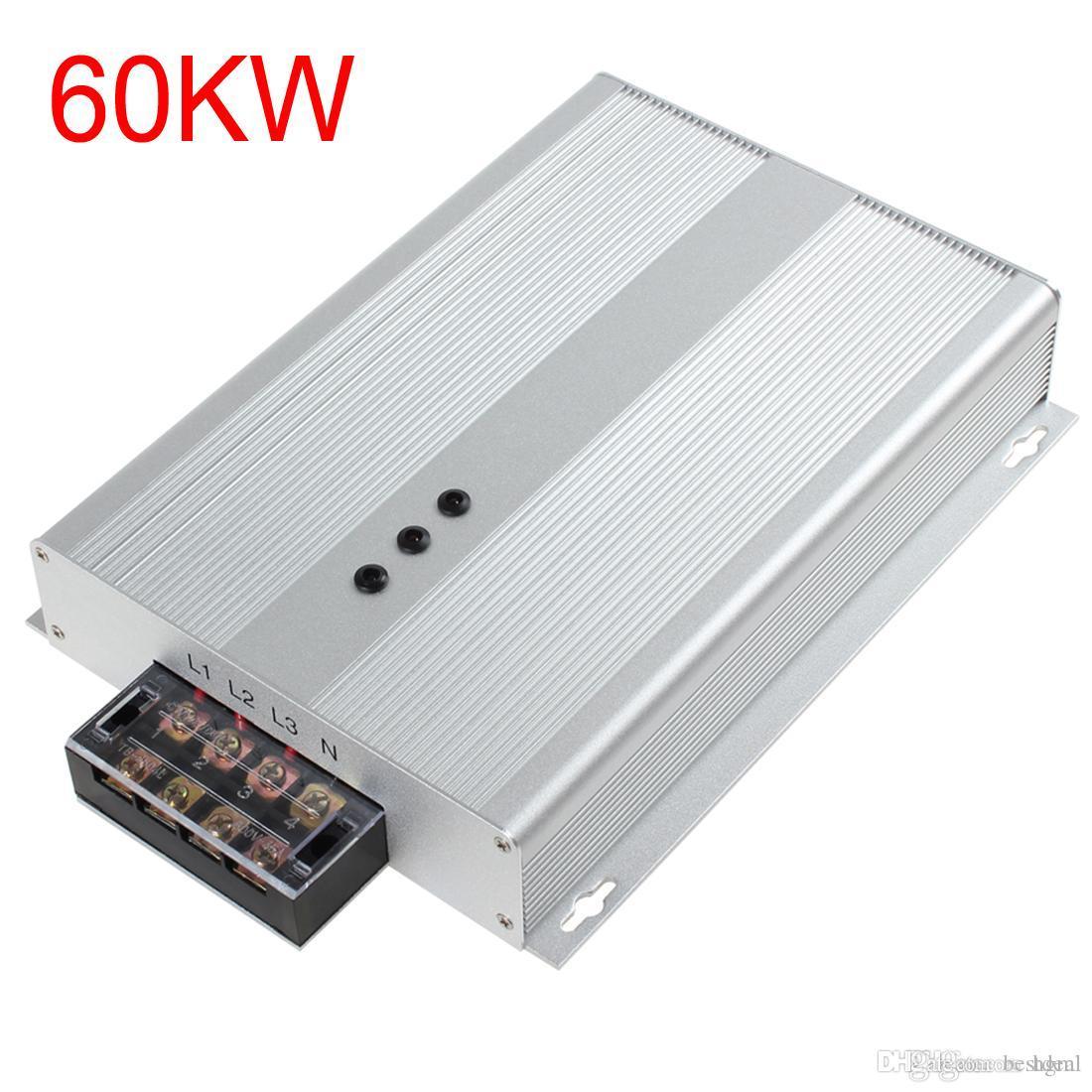 EE. UU. UE enchufe de Reino Unido 45KW / 60KW Ahorrador de energía de Intelliworks Ahorro de energía Trifásico Industrial Ahorrador de energía Caja 90-400V Ahorro de energía 35% EGS1B0