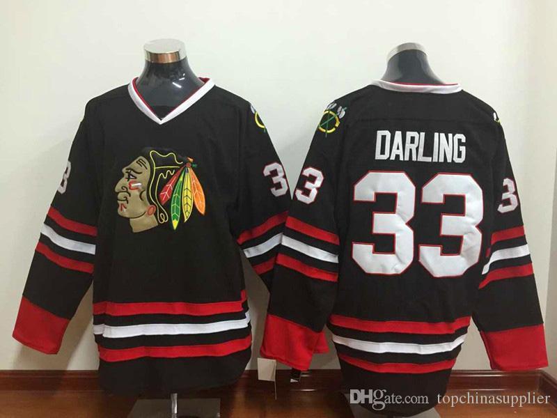 26babf1cfc8 ... 2017 Newest Blackhawks 33 Scott Darling Jersey Hot Sale Hockey Jerseys  Best Ice Hockey Wear Brand Chicago ...