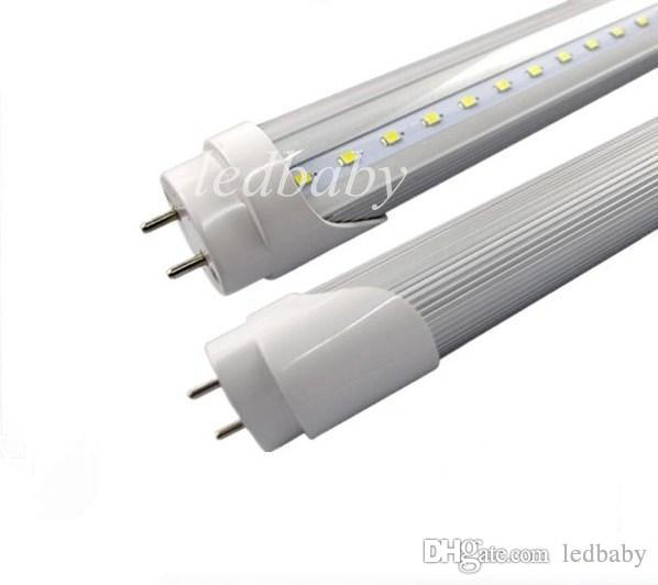 12W 2FT 2 Füße führte Rohre T8 60mm SMD2835 führte Leuchtstoffröhre-Lampe CRI85 110LM / W warmes / kaltes Weiß AC85-265V