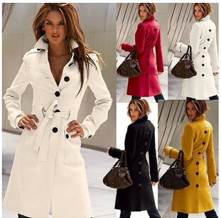 Online Cheap Dust Coat Women'S Clothing Fashion Autumn Coat Trench ...