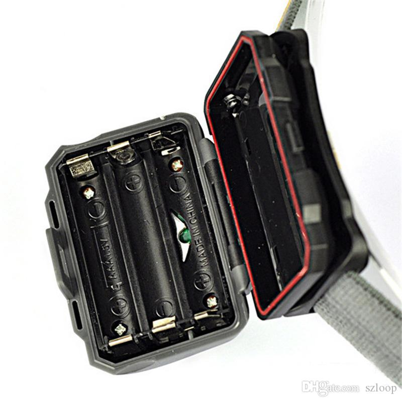 CREE R3 faros portátiles 2 linternas LED Linternas al aire libre 300LM Faros delanteros con diadema Senderismo Antorcha Camping 2503020