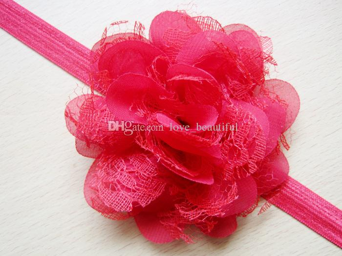 mix baby Hair Accessories For Infant Baby Lace Big Flower Princess Babies Girl Hair Band Headband Baby's Head Band Kids