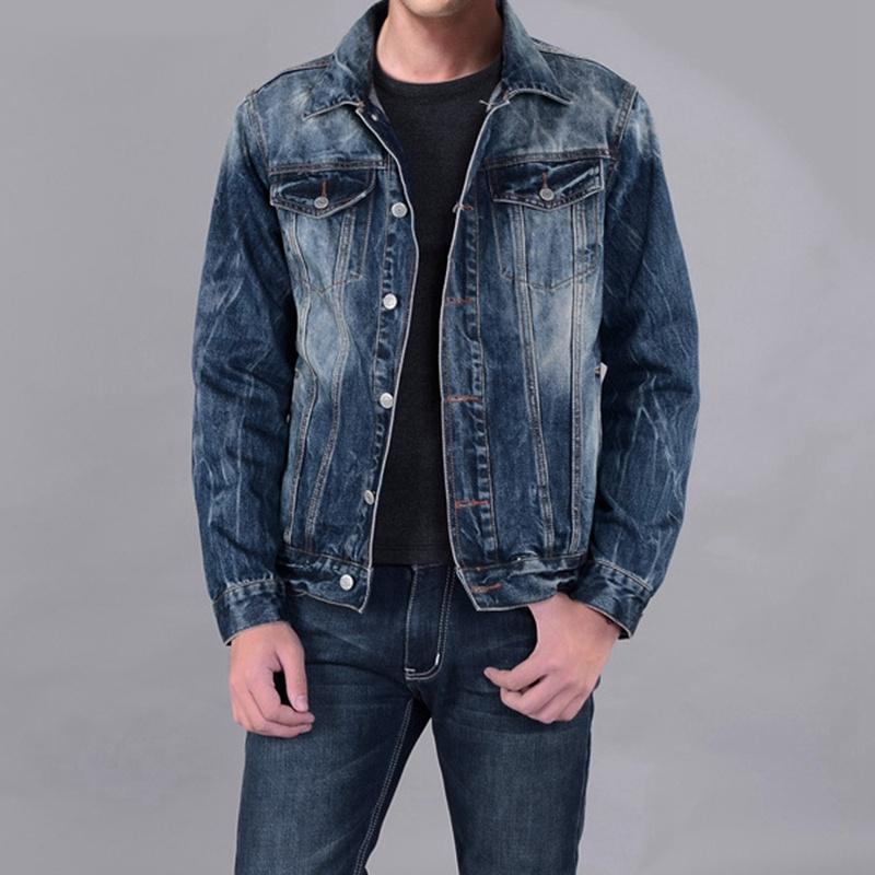 Jeans Jacket Men 2015 Jacket New Arrival Fashion Denim Jacket Slim ...