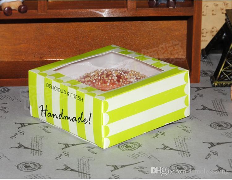 HOT 음식 포장 상자 스낵 상자 케이크 파티 베이비 샤워 빵집 상자 서쪽 지점 케이크 상자 무스 케이크 상자 판매