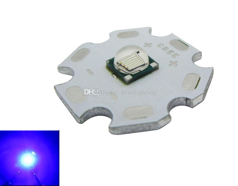 Epileds 10W 로얄 블루 450-455nm 3.2-3.8V 1-3A LED 칩 전구 램프 20mm / 16mm의 / 많은