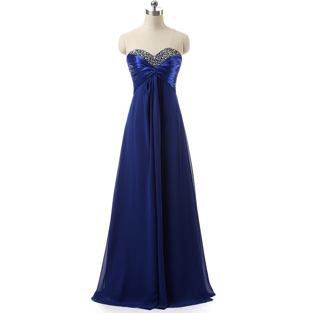Top Rated Bridesmaid Dresses Long Floor Sequin Beaded Draped Chiffon Royal  Blue   Purple In Stock Cheap Bridesmaids Dress For Women Wedding Dress  Dresses ... a8d92fa54da6