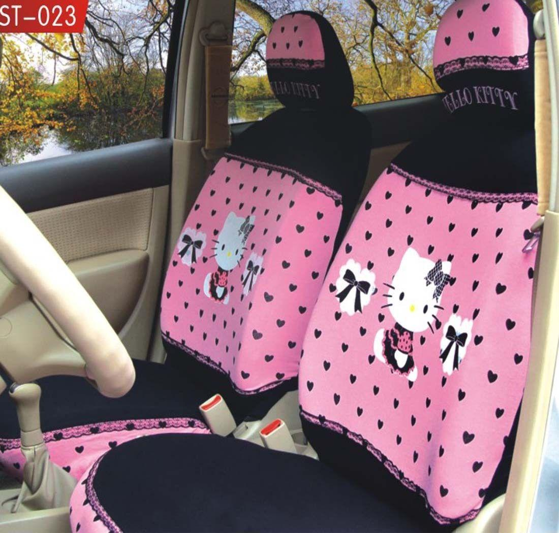 Universal Hello Kitty Lace Car Seat Covers Pink Online With 7772 Piece On Oilandwatchess Store