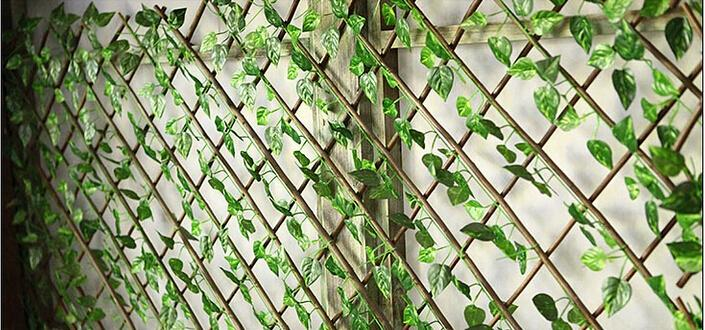 Length 220cm Bar Restaurant Decoration Artificial Plants Climbing Vines Green Leaf Ivy Home Decor Online With 124 Piece On