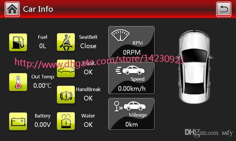 Atacado! 2 Din 7 Polegada DVD Player Do Carro Para VW / Volkswagen / Passat / POLO / GOLF / Skoda / assento Com 3G USB GPS IPOD FM RDS Mapas Gratuitos
