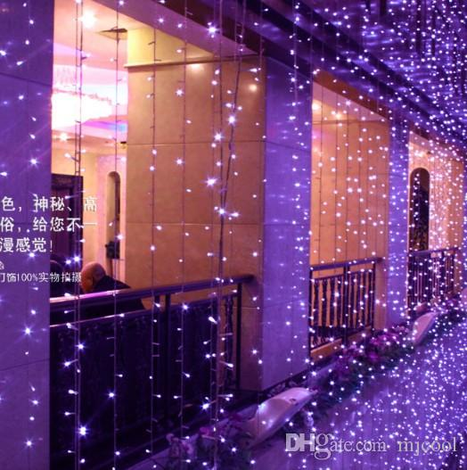 4 3 m 400 led curtain light wedding background of window decoration