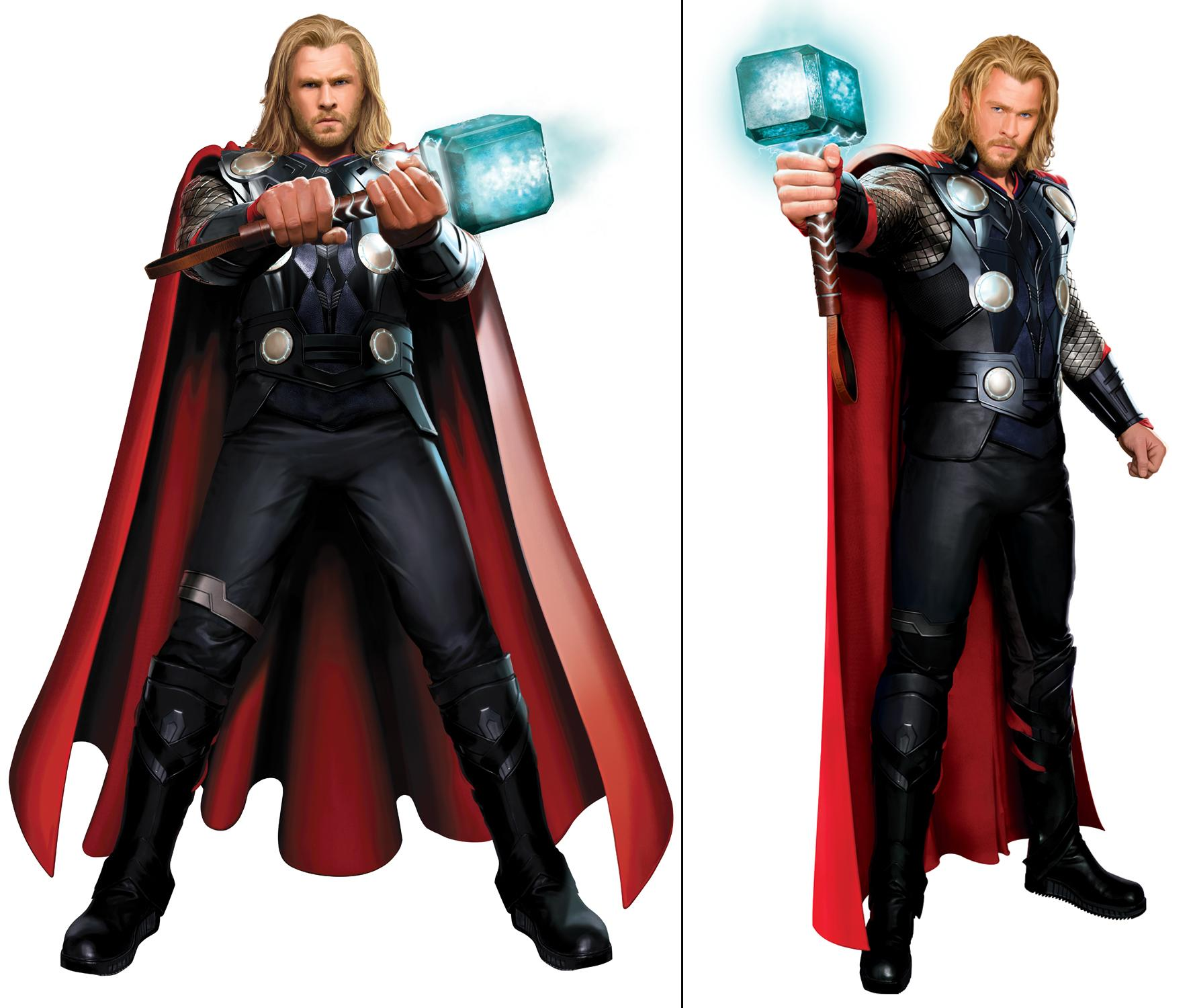 The Thor Odinson Cosplay Costume The Avengers Tight Muscle Super ...
