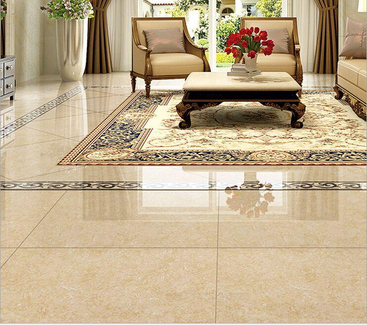 2018 Floor Tiles Living Room Skid Ceramic Stone Tile 800 * 800 3d ...