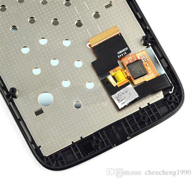 A+++ New Quality LCD Display With Touch Screen Digitizer + Frame Replacement For Moto Motorola G G2 G3 XT1032 XT1063 XT1054