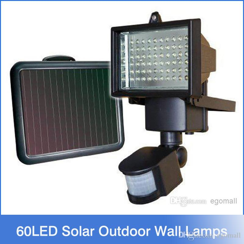 Solar Outside Security Lights Part - 48: Best New Arrival 60 Led Solar Outdoor Wall Lamps Garden Lighting Led Flood Security  Garden Light With Motion Sensor Solar Lamp Under $46.59 | Dhgate.Com