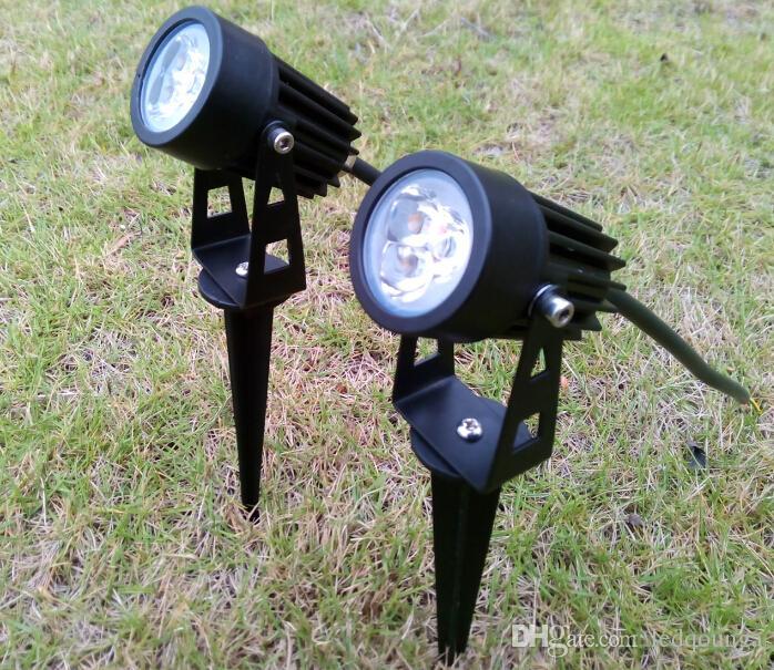 Im Freien Garten-LED Lawn Lampen 3W hohe Leistung 3x1W Glühlampe 3 Watt Spot-Leuchten Lampen Spotlight CE ROSH Wasserdichtes IP65 Beleuchtung /