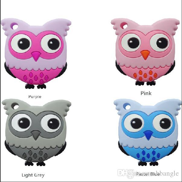 Cute Owl Baby Teether Toy Feeding Great Gift