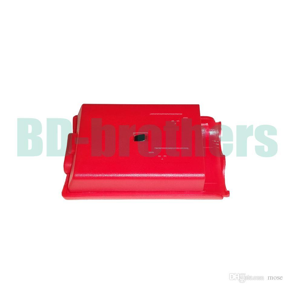 Buntes Batterie-Kasten-Abdeckungs-Shell-Gehäuse für Xbox 360 Xbox360 drahtlosen Prüfer-wieder aufladbaren Wiedereinbau-Schwarz-Weiß-Rot-Rosa /