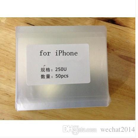 250um épais OCA autocollant de colle adhésive claire optique pour iPhone 5 5s 6 6 s 7 8 plus X LCD écran tactile en verre extérieur