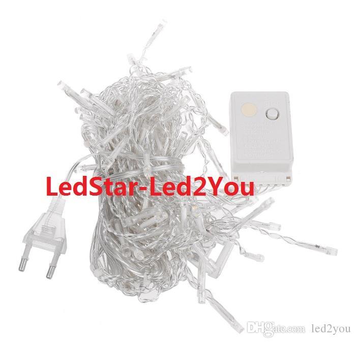 AC 110V 220V 3x3M LED 커튼 라이트 화환 LED 휴일 조명 문자열 조명 요정 결혼식 크리스마스 신년 실내 정원 장식