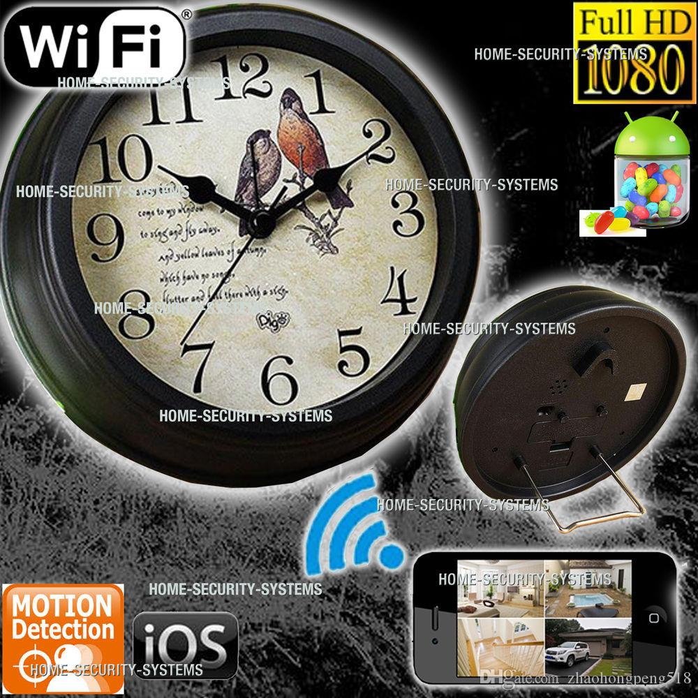 Wall clock hidden camera motion activated image collections home hd wifi spy camera 1080p motion activated wall clock hidden dvr see larger image amipublicfo image amipublicfo Images