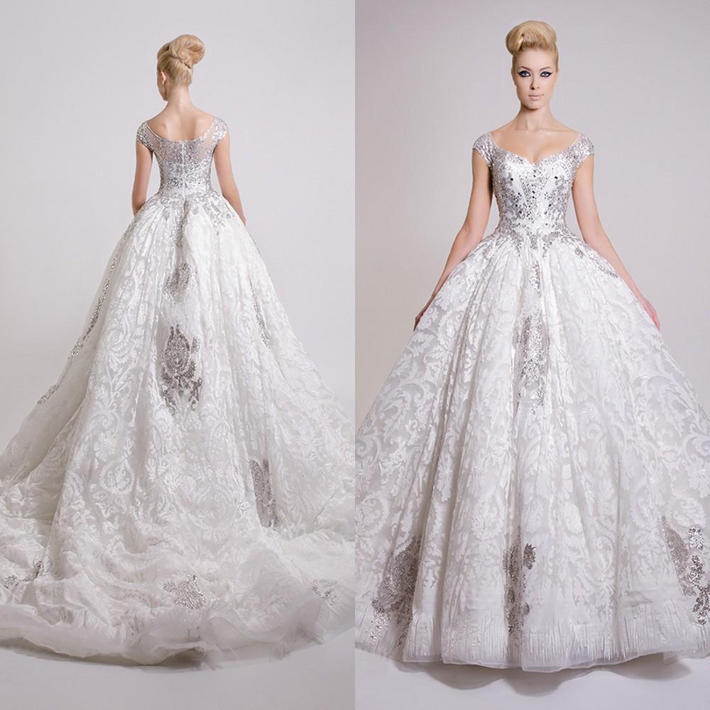 Vintage Victorian Wedding Dresses: 2016 Vintage Victorian Ball Gown Wedding Dresses Sexy