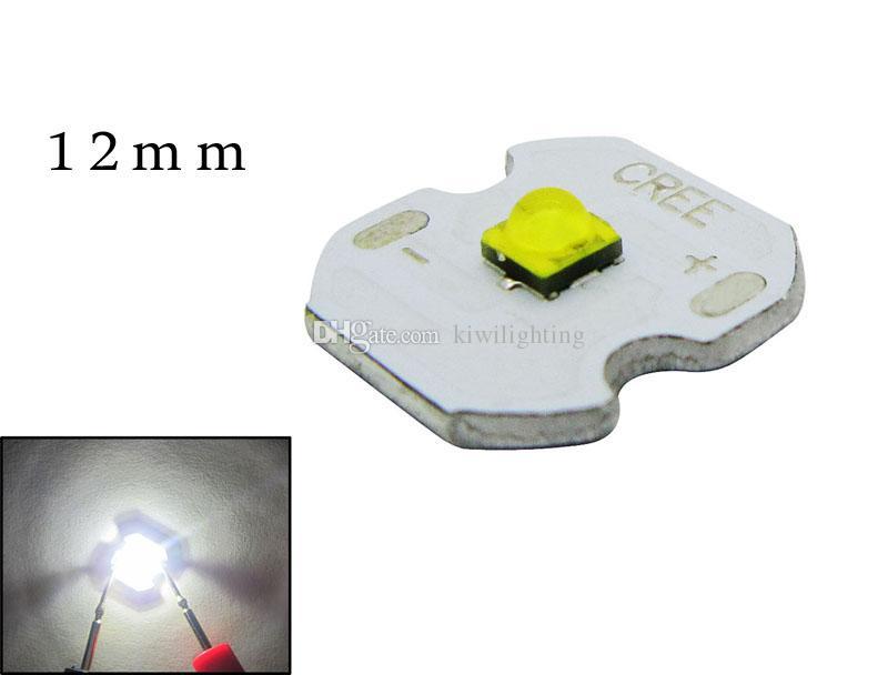 3W CREE XB-D XBD White 6000K / Natural White 4000K LED Chip Light 2.9VDC 1A na płytce PCB 14mm / 12mm / 8mm