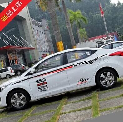 Nissan Sylphy Teana Sun Tiida Car Stickers Affixed Modified ...