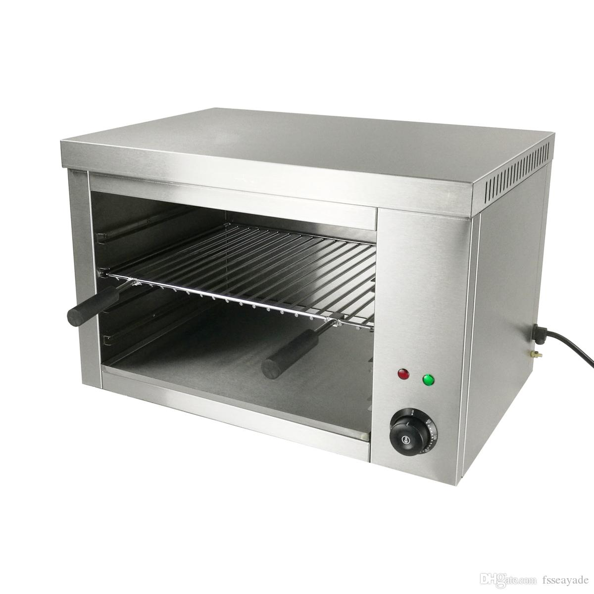 Countertop Commercial Electric Salamander Broilers 2200v Stainless ...
