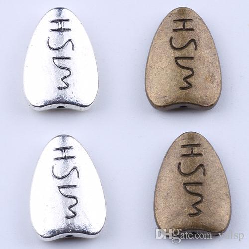 Новая мода ретро любовь гравировка подвески символ Шарм серебро / медь DIY ювелирные изделия кулон fit ожерелье или браслеты 200 шт. / лот 1971c