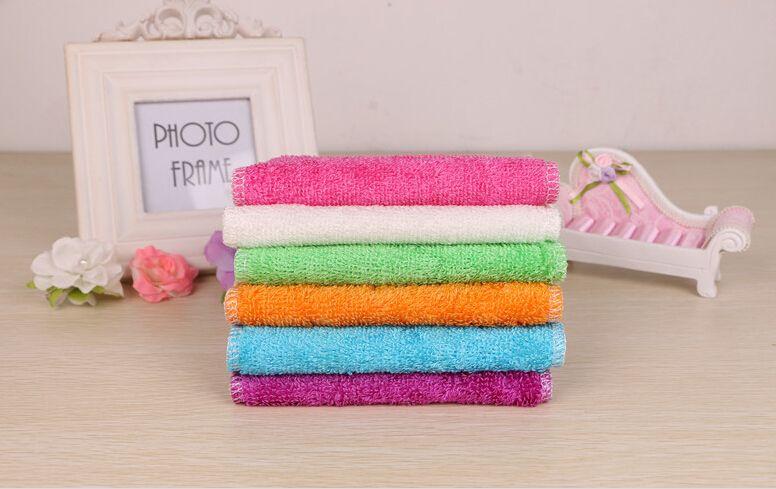 All'ingrosso alta efficienza ANTI-GREASY colore piatto panno, fibra di bambù lavaggio asciugamano piatto, magia cucina panno di pulizia, wipping stracci TY12