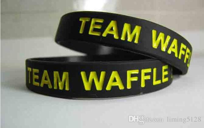 Bracelets en silicone personnalisés 12mm large 1 couleur rempli Debossed Texts Logo personnalisé Bracelet en silicone pour les événements cadeau