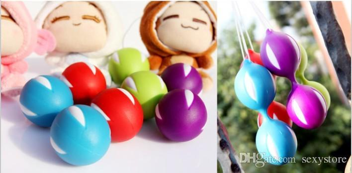 / ben wa gueixa amor bola, brinquedo do sexo, Benwa Smartballs Kegel Exercício Bola Corpo Enhancer para a vagina feminina