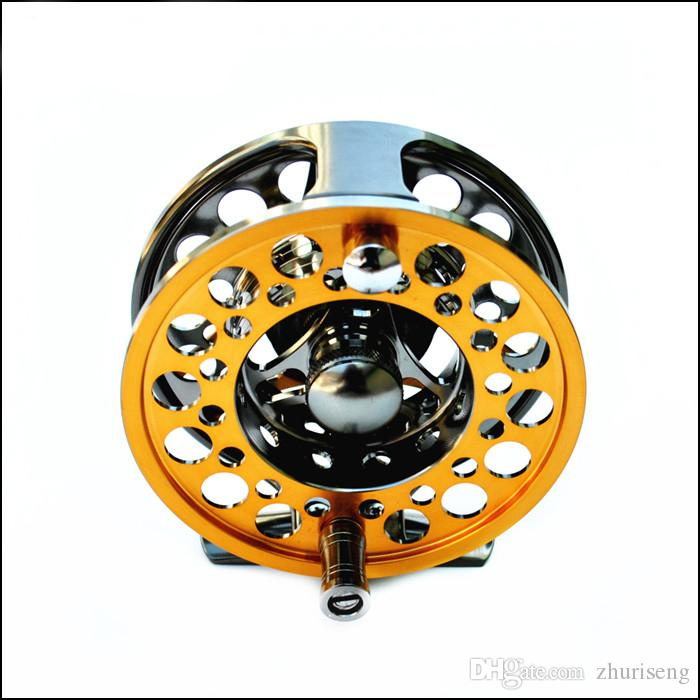 Tideliner Aluminium fly fishing reel LG85 5/6 CNC all metal 1:1 85mm 146g Right Left hand inter-changeable fly reel wheel