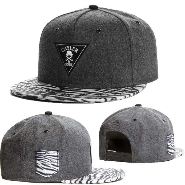 da8dc46febb Wholesale-8 Style Cayler And Sons Logo Snapback Hat Bandana Cashew ...