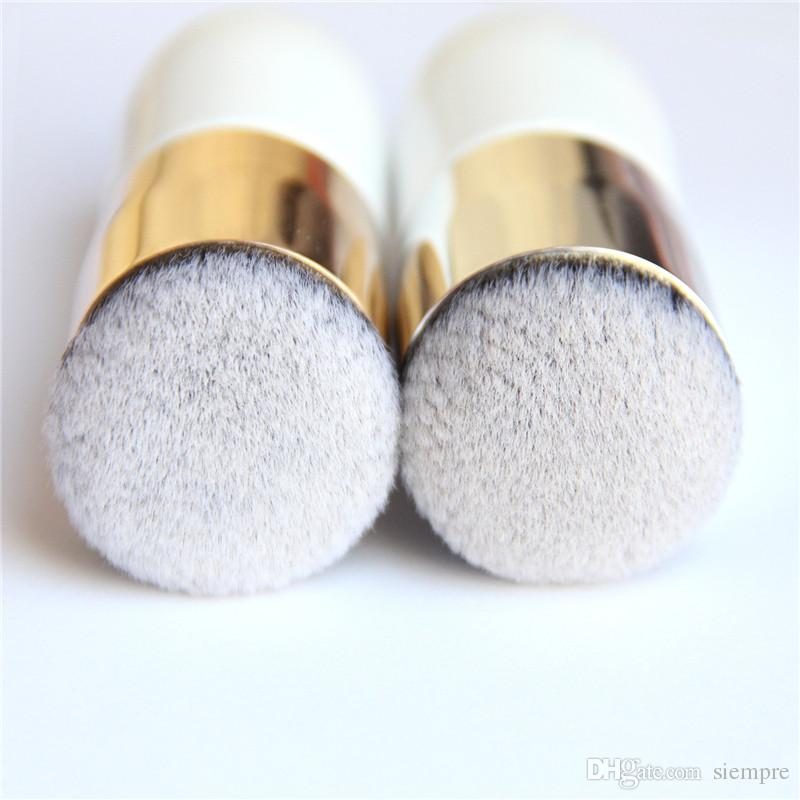 Nuevos modelos de dos colores Explosion chubby pier foundation brush flat bb cream makeup brushes Profesional Cosmetic Makeup Brush
