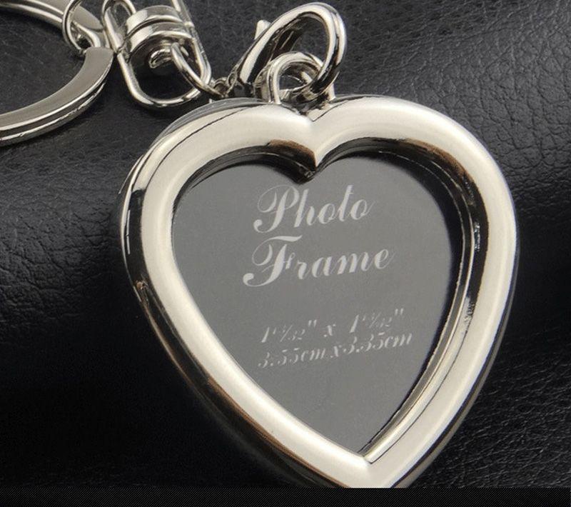 Fotoğraf çerçevesi anahtarlık alaşım locket lover resim anahtarlık anahtar yüzükler kadınlar erkekler için kalp apple kolye yıldönümü hediyesi 240241