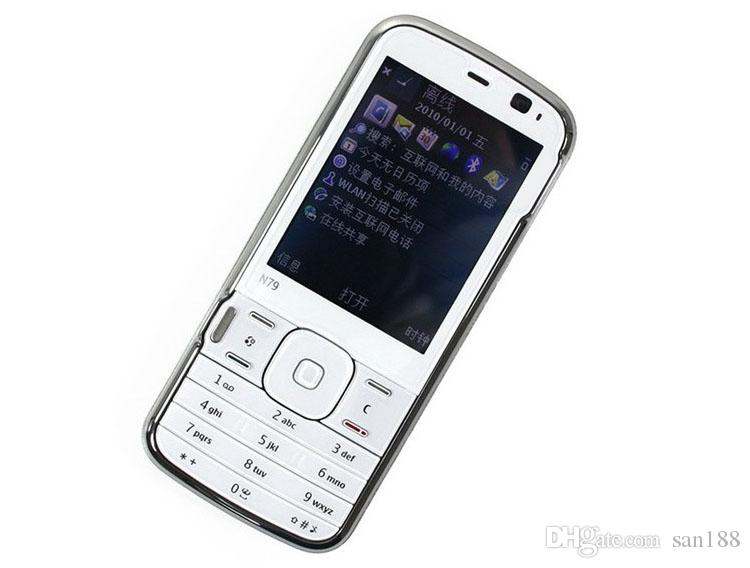 5MP bar unlocked phone Camera sim card 2.4 inch N79 smart phone cell phone with WIFI GPS Bluetooth FM radio with box