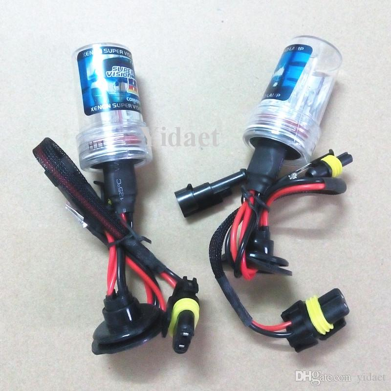 Whosale 12v 35W Xenon HID Ampoule simple, peut mélanger des AC ou DC ampoule xénon HID