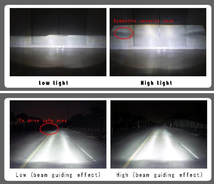car projector Lens Headlight hid lens H4 H7 h1 2.5 Angel Eyes BI-Xenon HID Projector Lens Kit with Double Bulbs Bi Xenon Projector