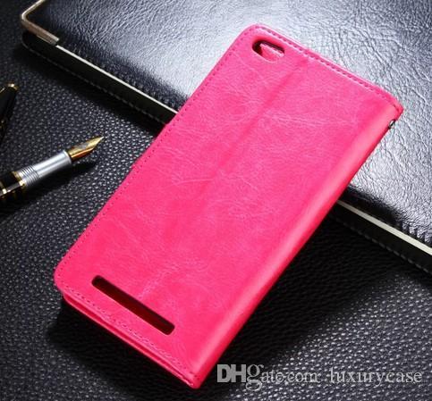 Optionele tas voor Xiaomi Hongmi 3 Case Flip Stand Cover Luxe Shell Skin Lederen Case Voor Xiaomi Hongmi 3 Redmi 3 Redrice 3